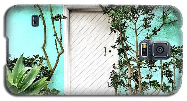 Galaxy S5 Case - Turqoiuse Wall by Julie Gebhardt