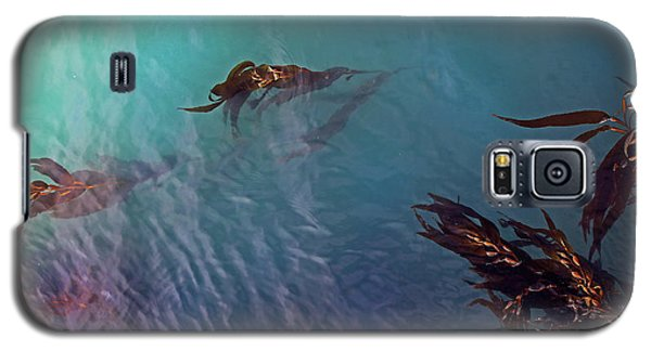 Turquoise Current And Seaweed Galaxy S5 Case