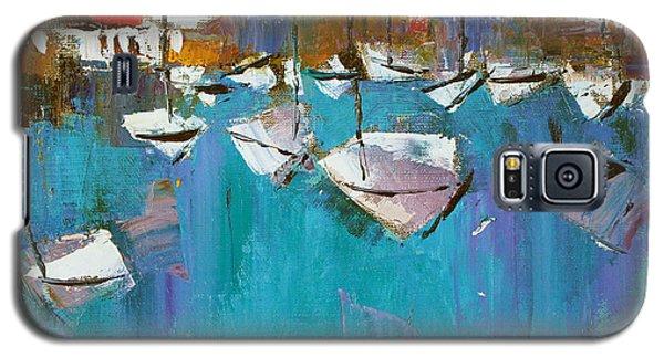 Turquoise Galaxy S5 Case by Anastasija Kraineva