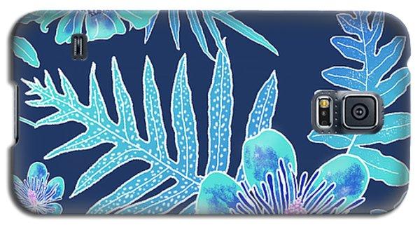 Turquoise Batik - Laua'e 12 Galaxy S5 Case