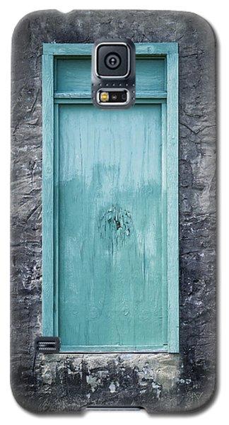 Turquoise Door Galaxy S5 Case