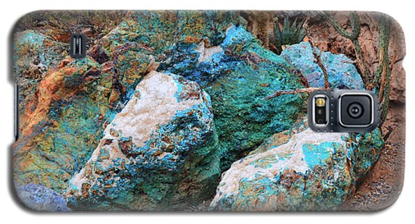 Turquoise Rocks Galaxy S5 Case