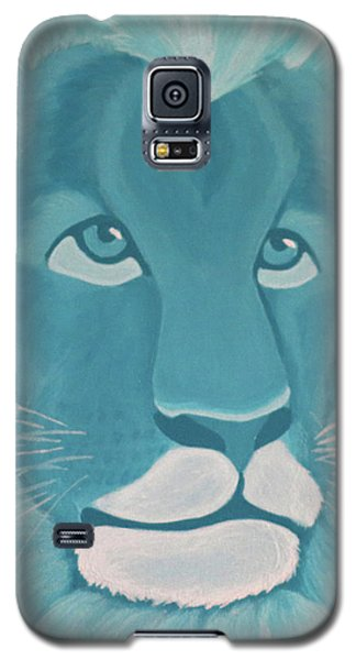 Turquoise Lion Galaxy S5 Case