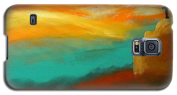 Turquoise Trail Sunset Galaxy S5 Case