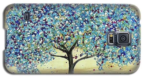 Turquoise Tree Galaxy S5 Case
