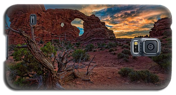 Turret Arch At Sunset Galaxy S5 Case