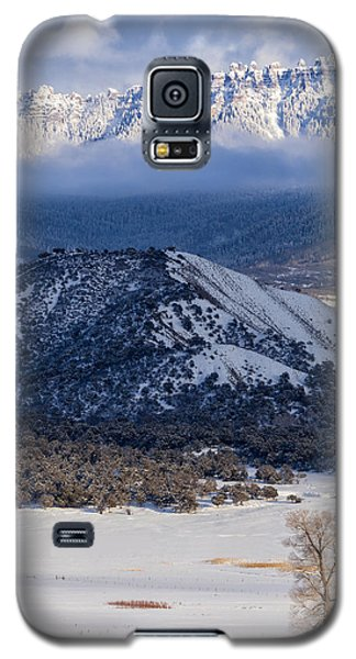 Turret Ridge In Winter Galaxy S5 Case