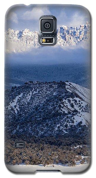 Turret Ridge In Winter Galaxy S5 Case