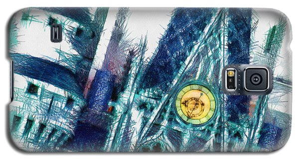 Turrets And Spires Pencil Galaxy S5 Case