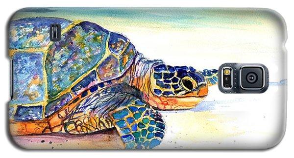 Turtle At Poipu Beach 2 Galaxy S5 Case