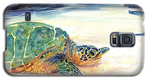 Turtle At Poipu Beach 5 Galaxy S5 Case