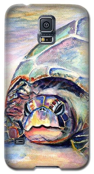 Turtle At Poipu Beach Galaxy S5 Case