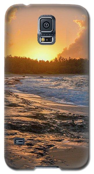 Turtle Bay Sunset 3 Galaxy S5 Case