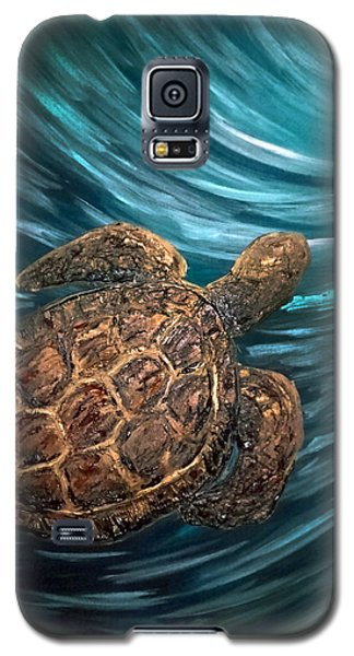 Turtle Wave Deep Blue Galaxy S5 Case