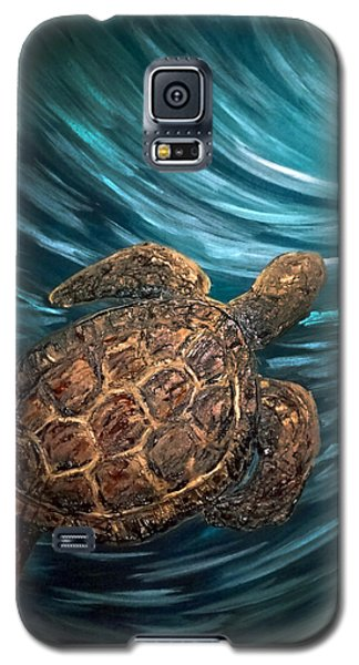 Turtle Wave Deep Blue Galaxy S5 Case