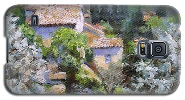 Tuscan  Hilltop Village Galaxy S5 Case by Chris Hobel