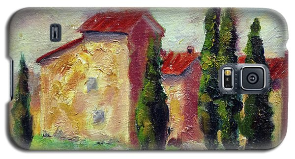 Tuscan House With Hay Galaxy S5 Case