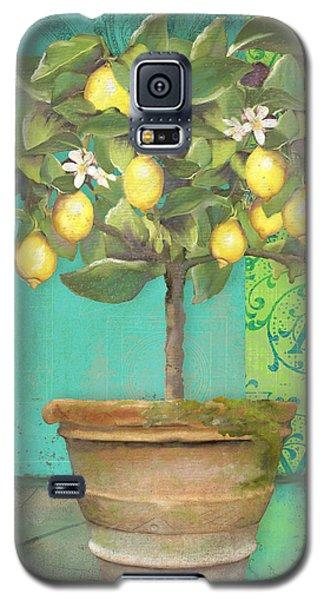 Tuscan Lemon Topiary - Damask Pattern 1 Galaxy S5 Case