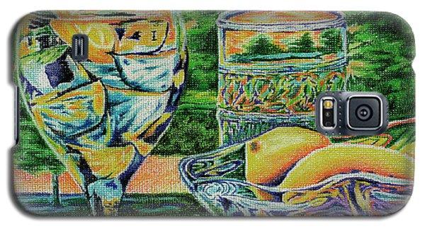 Tuscan Summer Lemonade  Galaxy S5 Case by Peter Piatt
