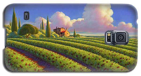 Galaxy S5 Case featuring the painting Tuscan Summer by Robin Moline
