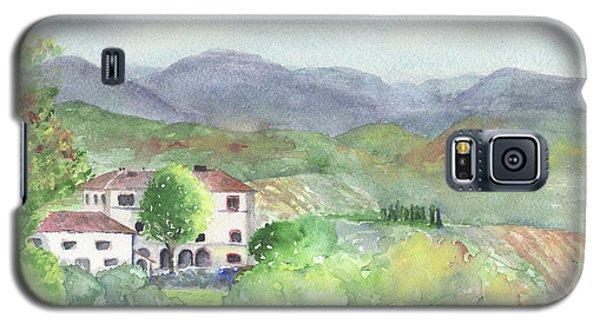 Tuscan Vineyards Galaxy S5 Case