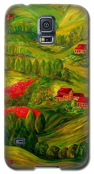 Tuscany At Dawn Galaxy S5 Case by Eloise Schneider