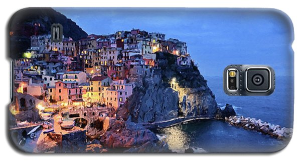 Tuscany Like Amalfi Cinque Terre Evening Lights Galaxy S5 Case