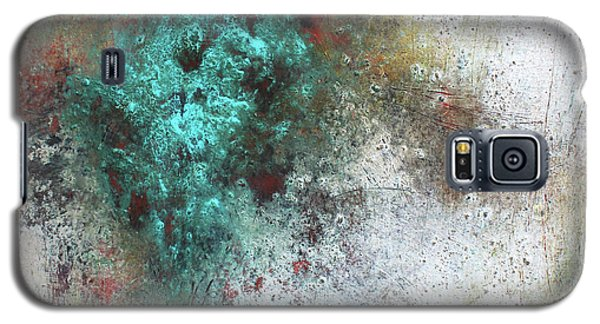 Galaxy S5 Case featuring the mixed media Tuscany Oil And Cold Wax by Patricia Lintner