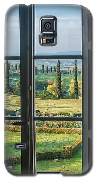Tuscany Out My Window Galaxy S5 Case