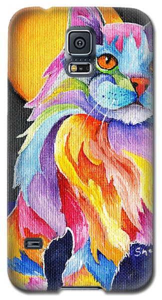 Tutti Fruiti Kitty Galaxy S5 Case