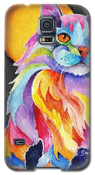 Tutti Fruiti Kitty Galaxy S5 Case by Sherry Shipley