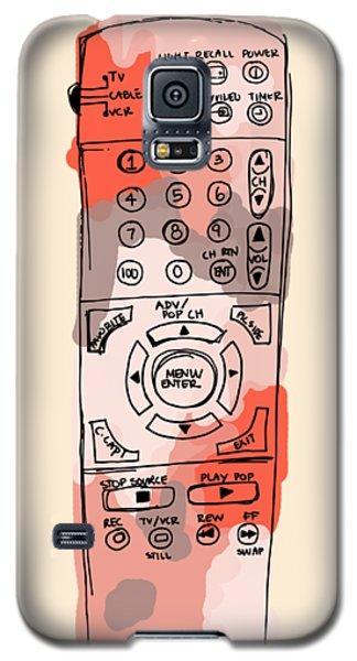 tv remote I Galaxy S5 Case