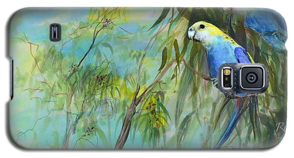 Two Pale-faced Rosellas Galaxy S5 Case
