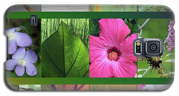 Galaxy S5 Case featuring the photograph Twelve Months Of Nature by Peg Toliver