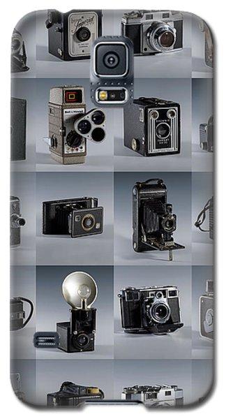 Twenty Old Cameras - Color Galaxy S5 Case