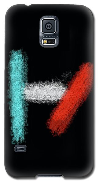 Twenty One Pilots Black Abstract Galaxy S5 Case