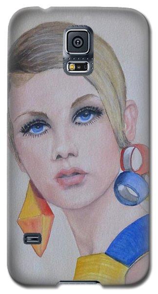 Twiggy The 60's Fashion Icon Galaxy S5 Case