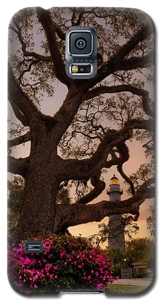 Twilight At St. Simons Lighthouse Galaxy S5 Case
