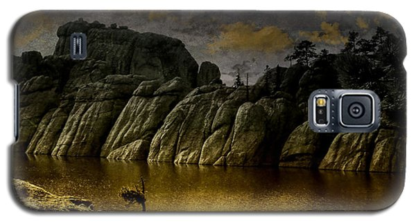 Twilight At The Lake Galaxy S5 Case