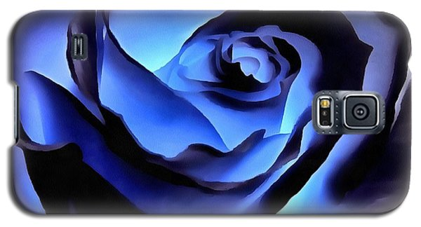 Twilight Blue Rose  Galaxy S5 Case