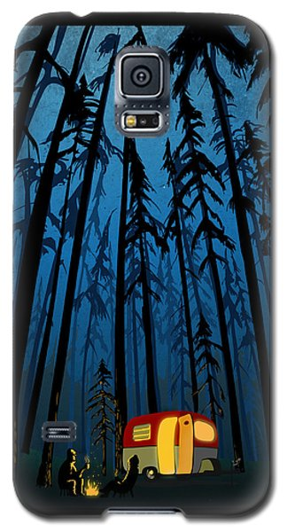 Twilight Camping Galaxy S5 Case by Sassan Filsoof