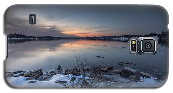 Galaxy S5 Case featuring the photograph Twilight by Edward Kreis