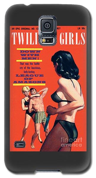 Twilight Girls Galaxy S5 Case by Doug Weaver