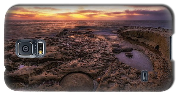 Galaxy S5 Case featuring the photograph Twilight On The Pacific - California Coast by Photography  By Sai