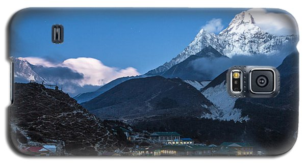Twilight Over Pangboche In Nepal Galaxy S5 Case