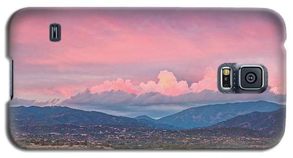 Sangre De Cristo Galaxy S5 Case - Twilight Panorama Of Sangre De Cristo Mountains And Santa Fe - New Mexico Land Of Enchantment by Silvio Ligutti