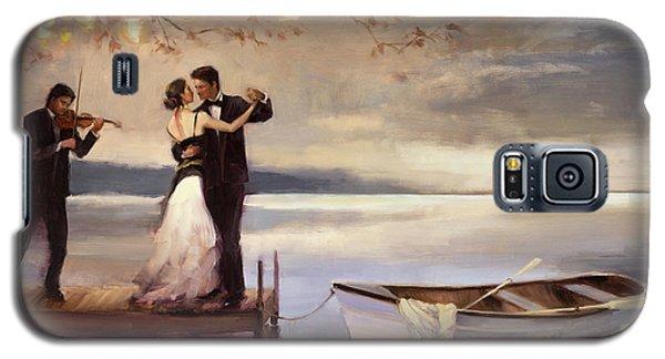 Violin Galaxy S5 Case - Twilight Romance by Steve Henderson