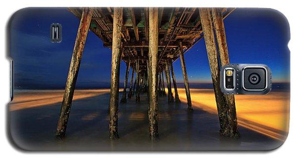 Twilight Under The Imperial Beach Pier San Diego California Galaxy S5 Case