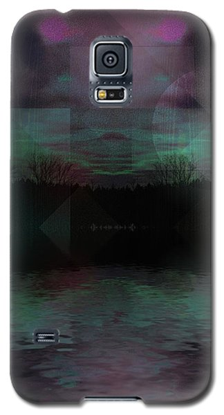 Galaxy S5 Case featuring the digital art Twilight Zone by Mimulux patricia no No