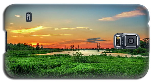 Galaxy S5 Case featuring the photograph Twilights Arrival by Marvin Spates